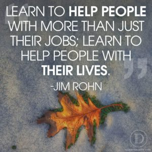 Help People with their Lives
