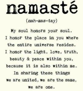 Namaste definition