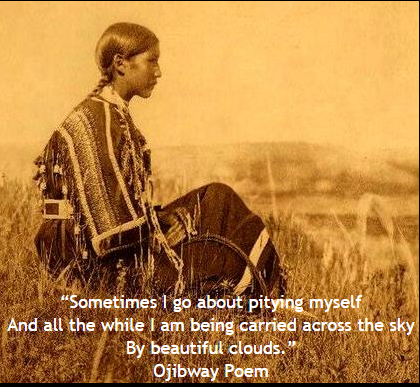Ojibway Poem - Native American - Pity