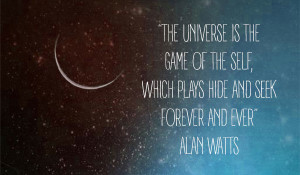 The Universe is a Game of Hide and Seek