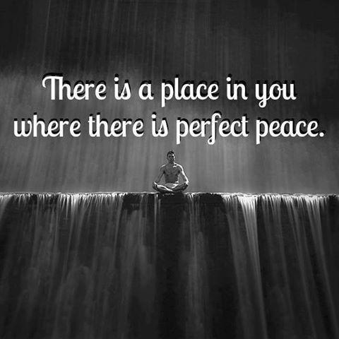 There is a place perfect peace