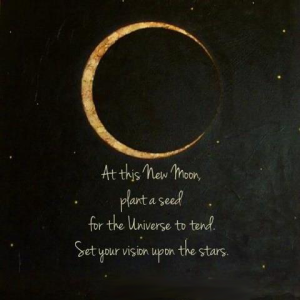 at this new moon