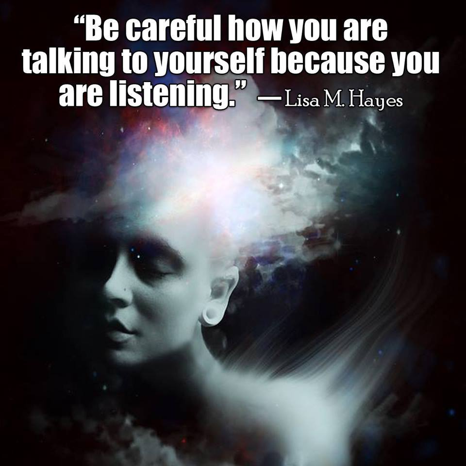 be careful talking