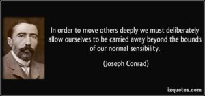 beyond normal sensibility