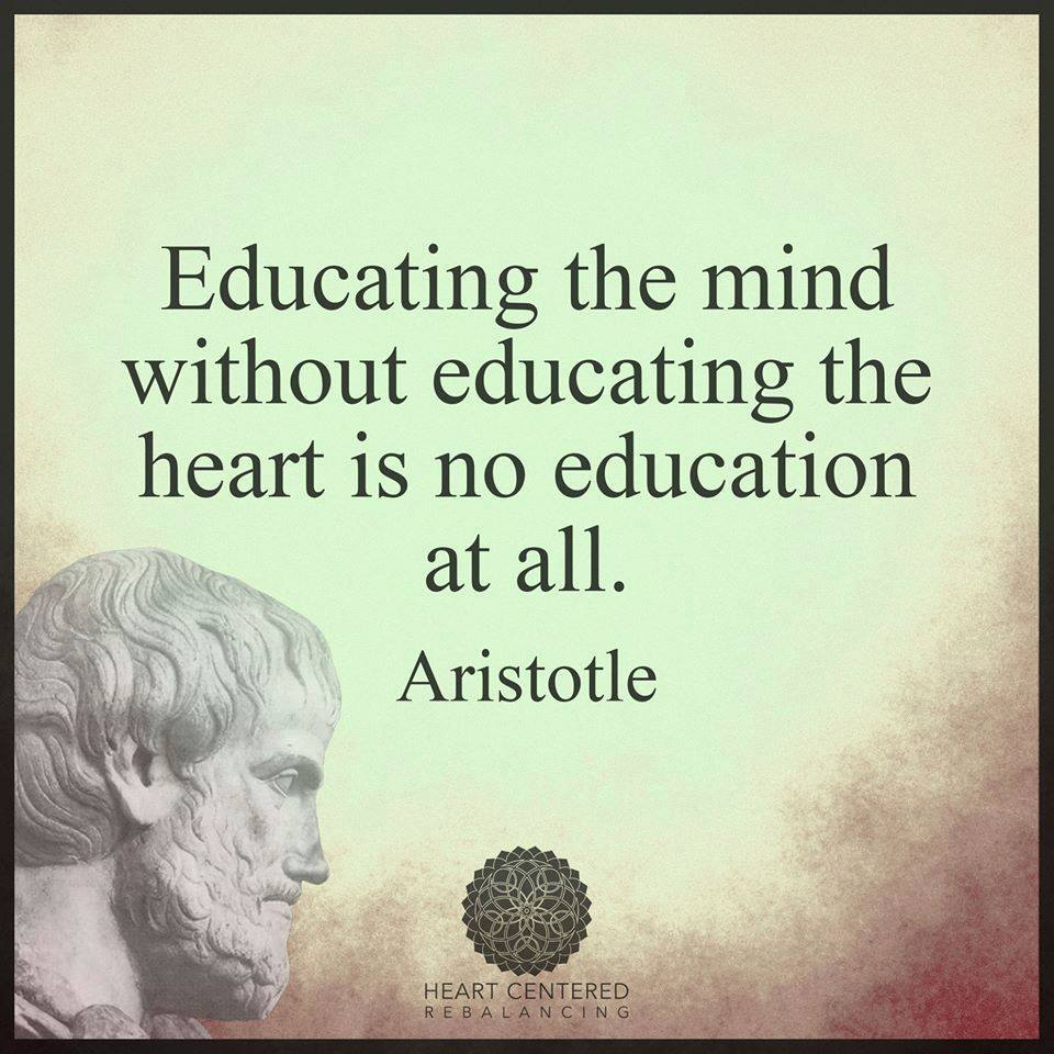educating mind educating heart