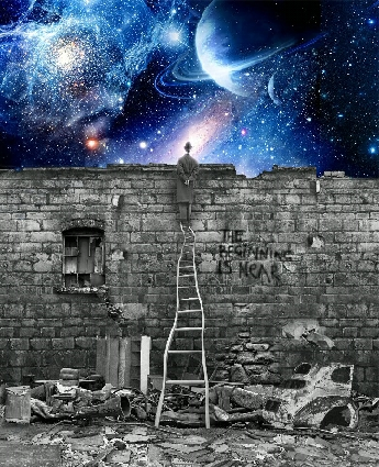 great picture - stairway to the cosmos