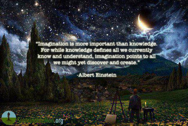 imagination albert einstein