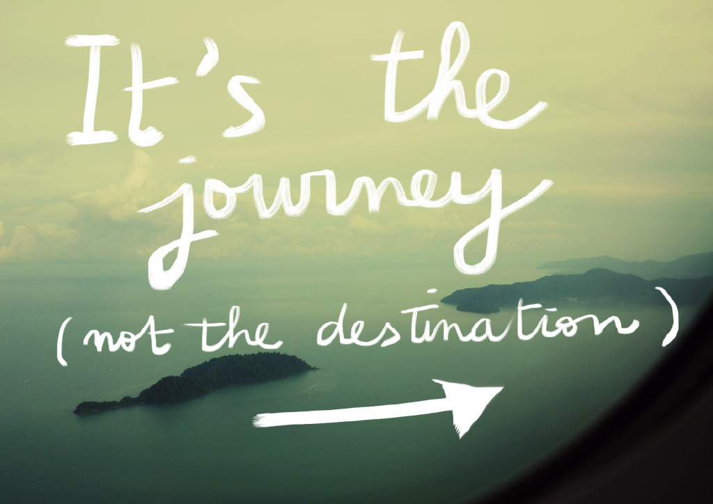 journey not the destination