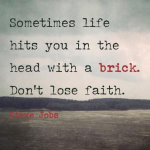 steve jobs brick