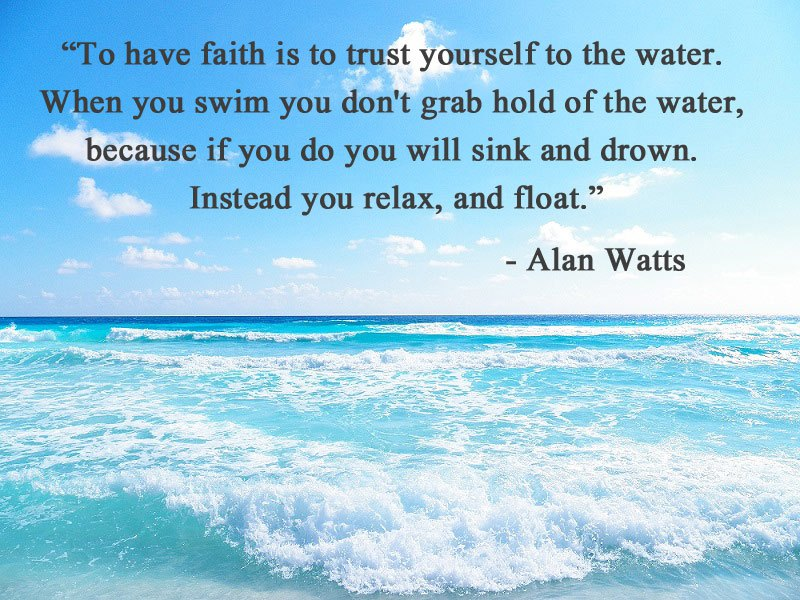 to have faith alan watts