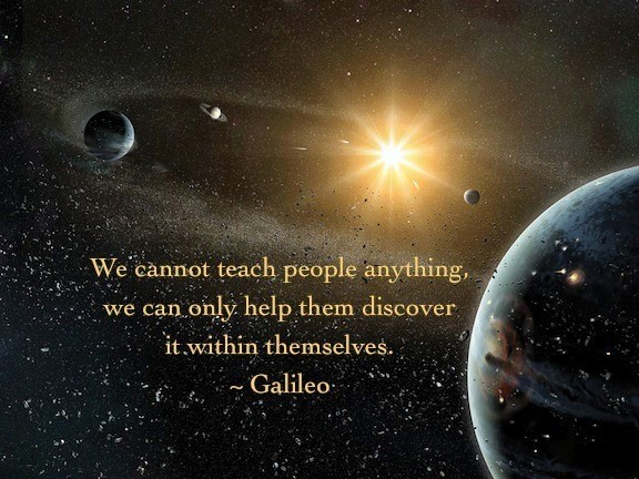 we cannot teach