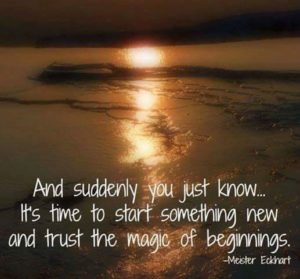 magically new beginnings
